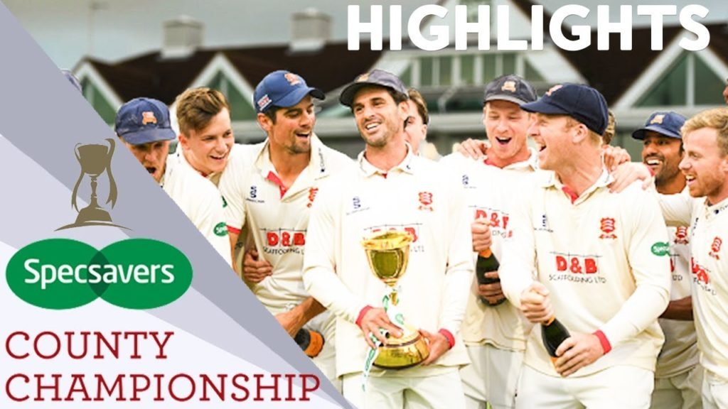 County Championship 2021 Schedule